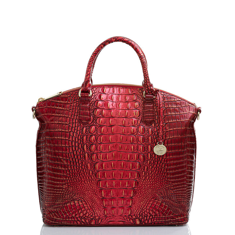 Large Duxbury Satchel Crimson Melbourne