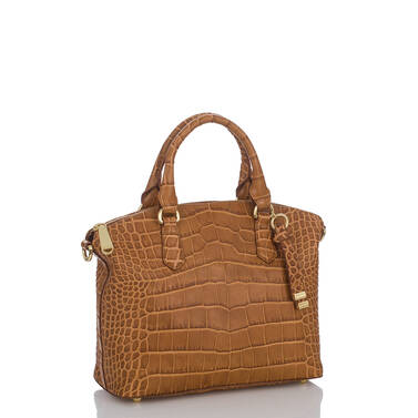 Duxbury Satchel Tan Savannah Side