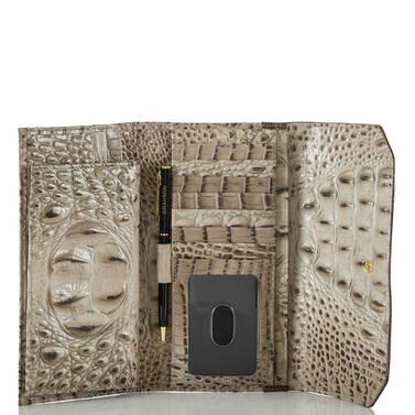 Soft Checkbook Wallet Barley Bronte Interior