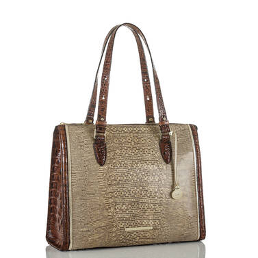 Anywhere Tote Brown Laelia Side