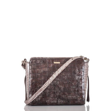 Carrie Crossbody Brown Charente Front