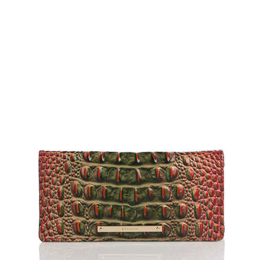 Ady Wallet Garland Ombre Melbourne Front Brahmin Exclusive