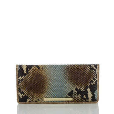 Ady Wallet Brown Cortes Front