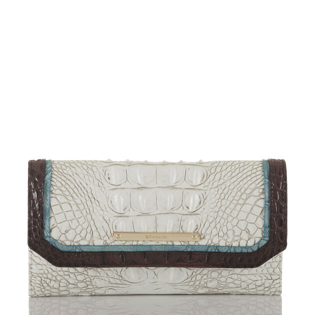 Soft Checkbook Wallet Coconut Soraya