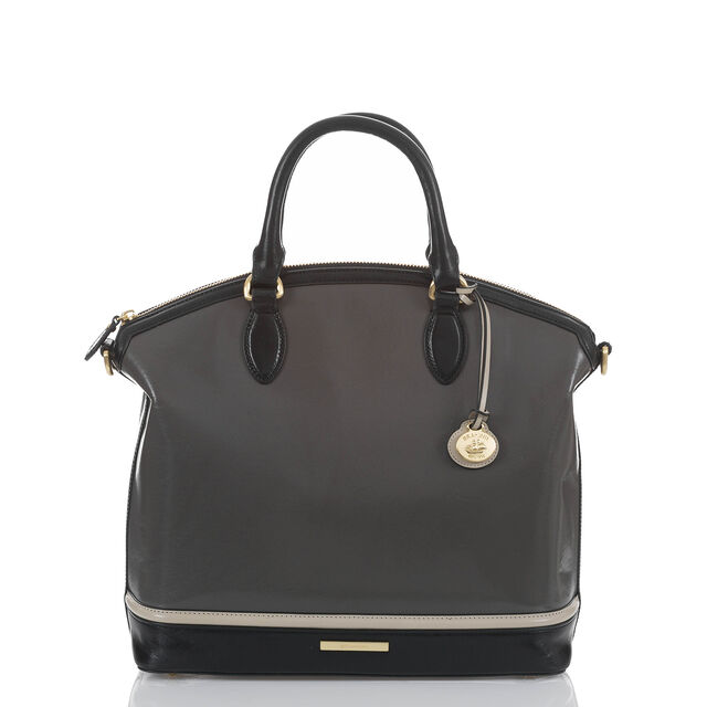 Large Duxbury Satchel Charcoal Westport, Charcoal, hi-res