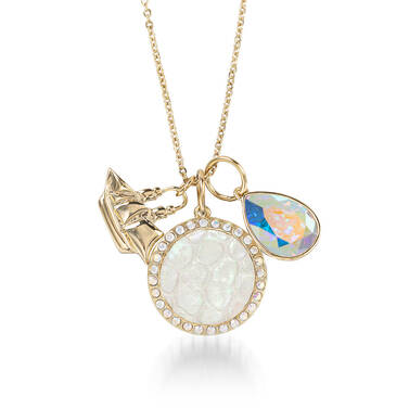 Crystal Charm Necklace Prism Fairhaven Front