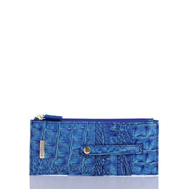 Credit Card Wallet Electric Blue Ombre Melbourne Front