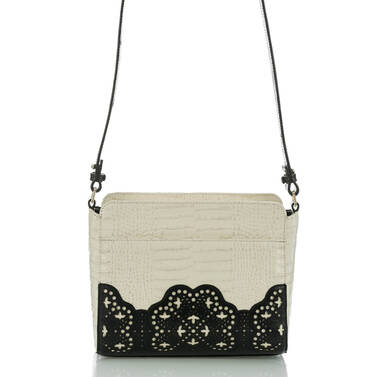 Carrie Crossbody Black Magnolia Back