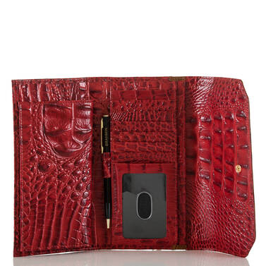 Soft Checkbook Wallet Chutney Vernon Interior