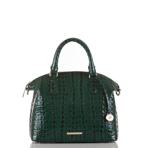 Duxbury Satchel Emerald La Scala, Emerald, hi-res