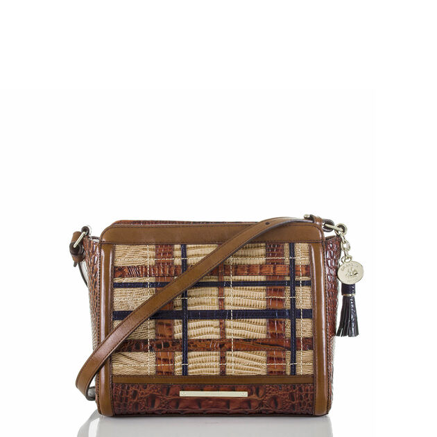 Carrie Crossbody Pecan Canterbury, Pecan, hi-res