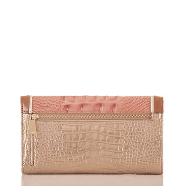 Soft Checkbook Wallet Sandshell Varadero Back