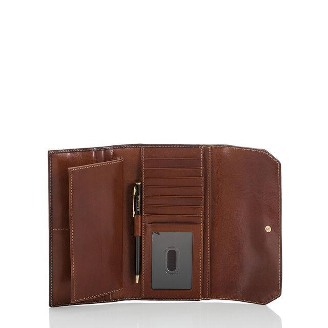 Soft Checkbook Wallet Cognac Westport, Cognac, hi-res