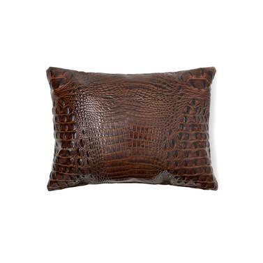 12X16 Pillow Case Pecan Melbourne Side