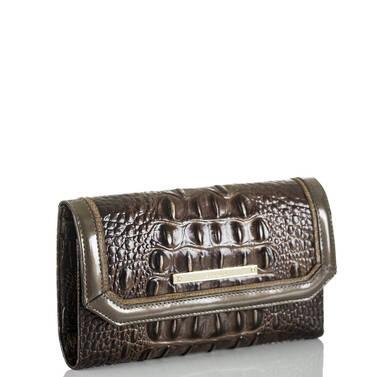 Soft Checkbook Wallet Brunello Vestige Side