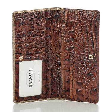 Ady Wallet Rose Gold Provence Interior