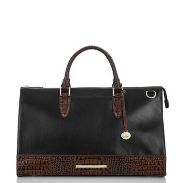 Anywhere Weekender Black Tuscan Tri-Texture Front