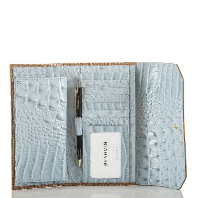 Soft Checkbook Wallet Sky Viognier, Sky, hi-res
