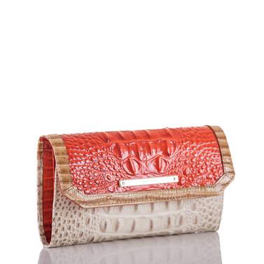 Soft Checkbook Wallet Amaryllis Cotinga Side