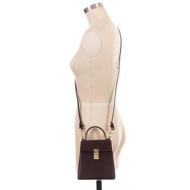 Midge Espresso Topsail On Mannequin