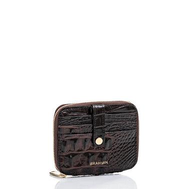 Travel Wallet Zip Around Cocoa Melbourne Front