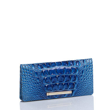 Ady Wallet Electric Blue Ombre Melbourne Side