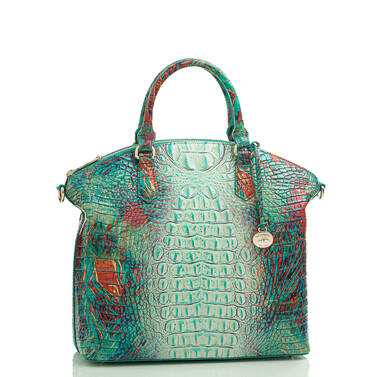 Large Duxbury Satchel Dream Ombre Melbourne Side