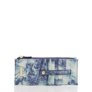 Credit Card Wallet Chambray Melbourne Front