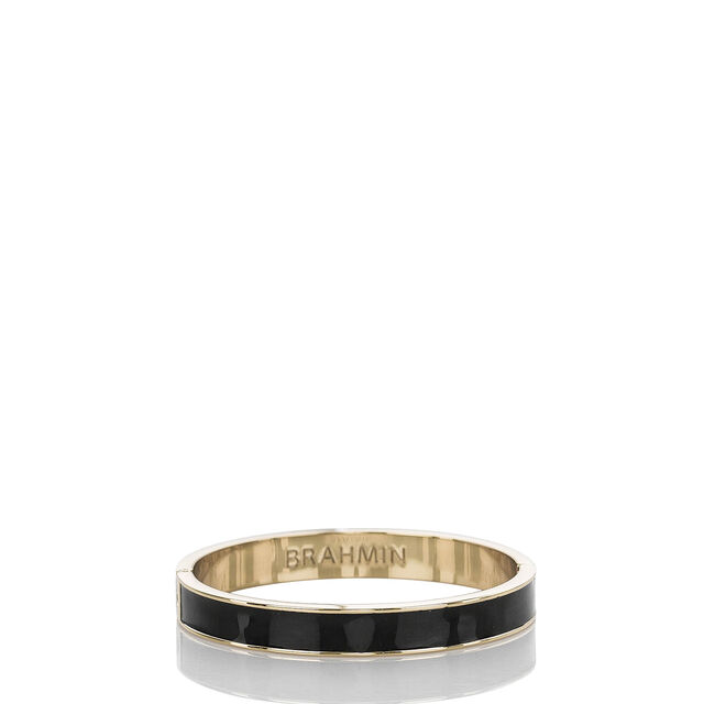 Fairhaven Thin Bangle Black Jewelry, Black, hi-res