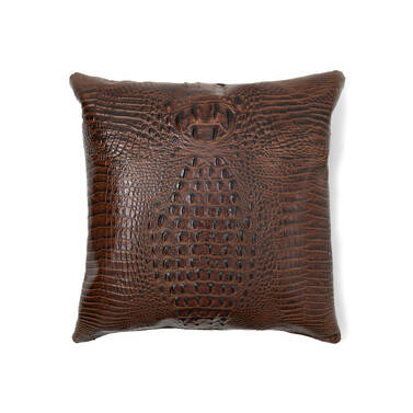 18x18 Pillow Case Pecan Melbourne Front Pillow Insert Not Included