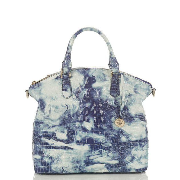 Large Duxbury Satchel Chambray Melbourne, Chambray, hi-res