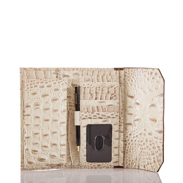 Soft Checkbook Wallet Vanilla Macaw, Vanilla, hi-res