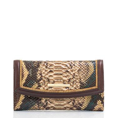 Modern Checkbook Wallet Savino Folklore Front