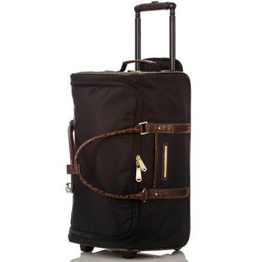 CarryOn Wheeled Duffle Black Travel Interior