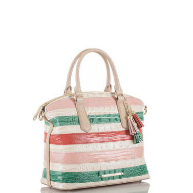 Duxbury Satchel Sunglow Cayo Coco Side