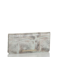 Ady Wallet Pewter Majorelle Front