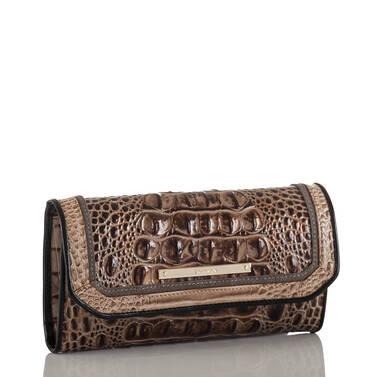 Soft Checkbook Wallet Bark Mitford Side