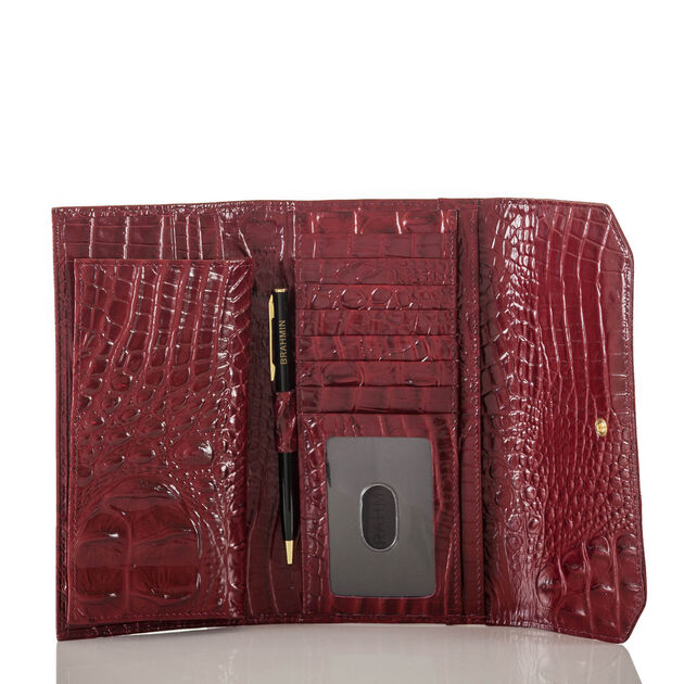 Soft Checkbook Wallet Chianti Melbourne