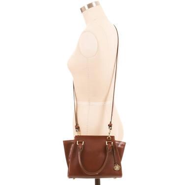 Mini Priscilla Cognac Topsail On Mannequin