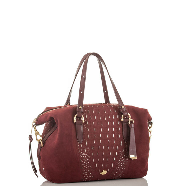 Delaney Satchel Cranberry Wilmington