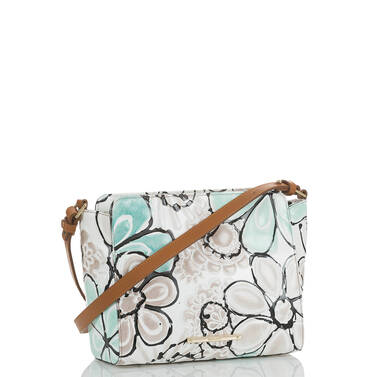 Carrie Crossbody Turquoise Kelson Side
