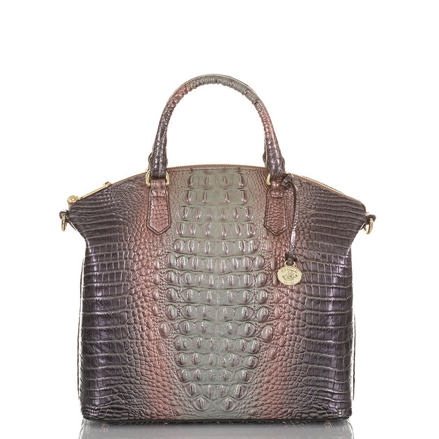 Large Duxbury Satchel Smokey Quartz Ombre Melbourne, Smokey Quartz, hi-res