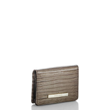 Mini Key Wallet Sable Fashion Lizard Side