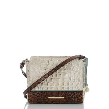 Carrie Crossbody Linen Tri-Color Front