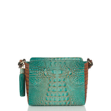 Carrie Crossbody Turquoise Paraty Back