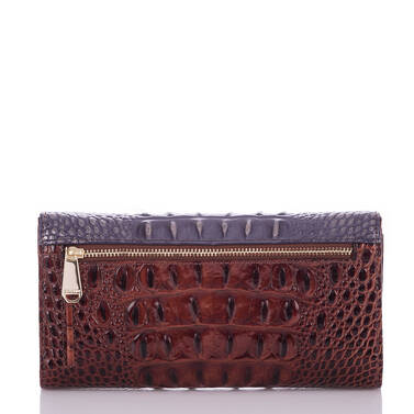 Soft Checkbook Wallet Andesite Lucino Back