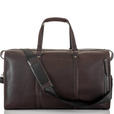 Liam Duffle Brown Bedford Front