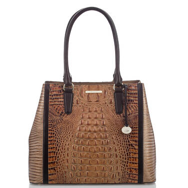 Joan Tote Toasted Almond Bengal Front