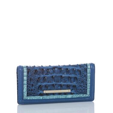Ady Wallet Sapphire Argan Side