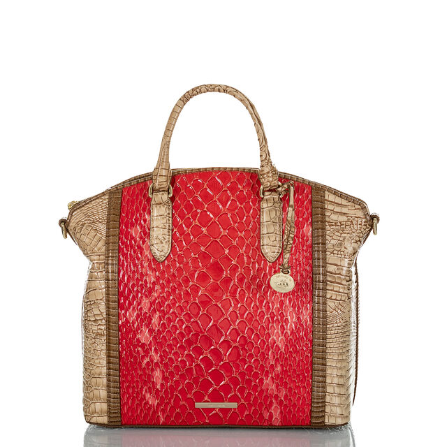 Large Duxbury Satchel Candy Apple Carlisle, Candy Apple, hi-res